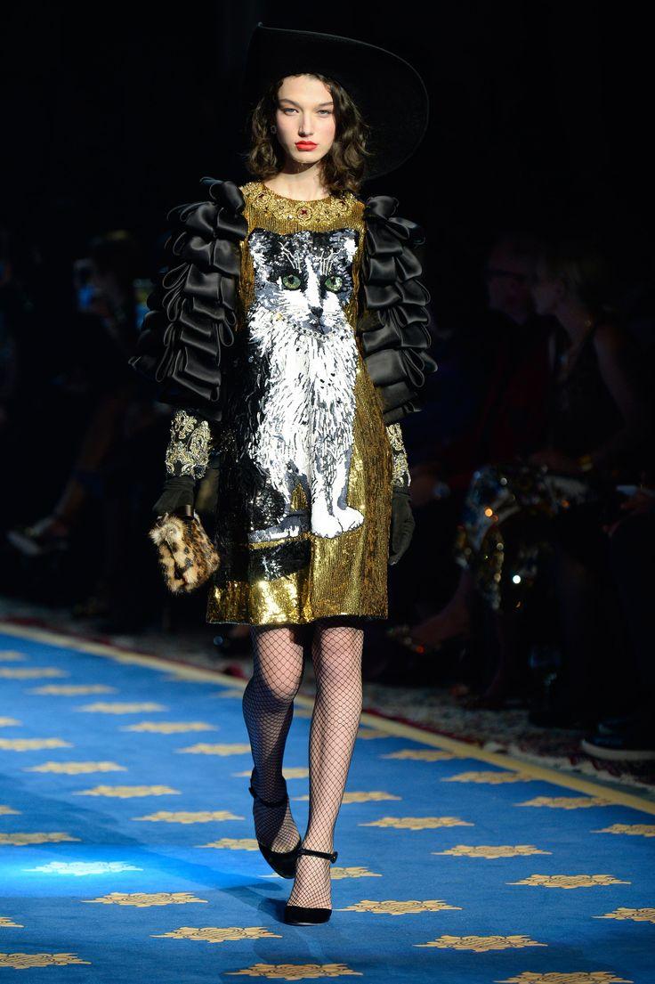 McKenna Hellam for Dolce & Gabbana Alta moda SS17