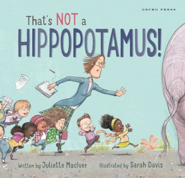 That's Not a Hippopotamus cover LR