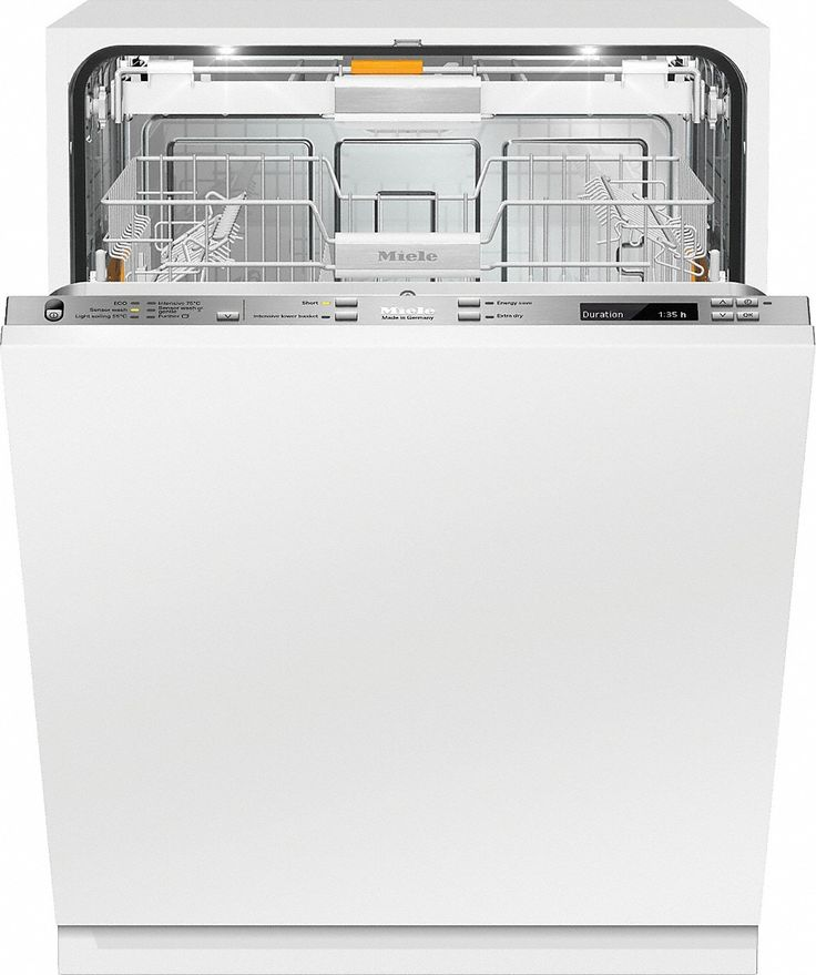 G 6587 SCVi XXL K2O NZ - Fully integrated dishwasher XXL with Knock2open and in-door salt container for maximum convenience.--NO_COLOR
