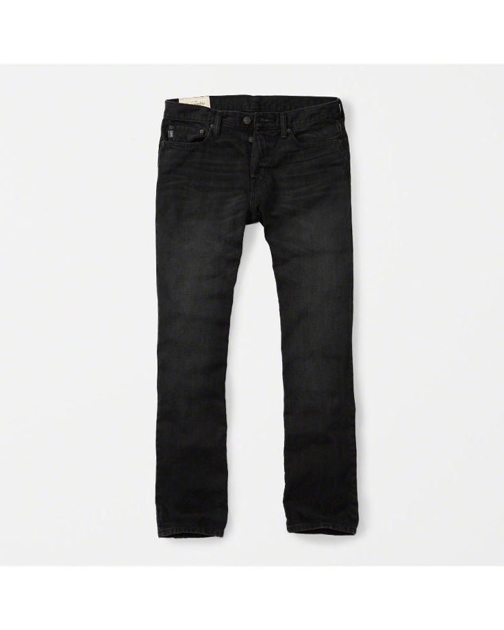 A&F Men's Bootcut Jeans in Black - Size 29 X 30