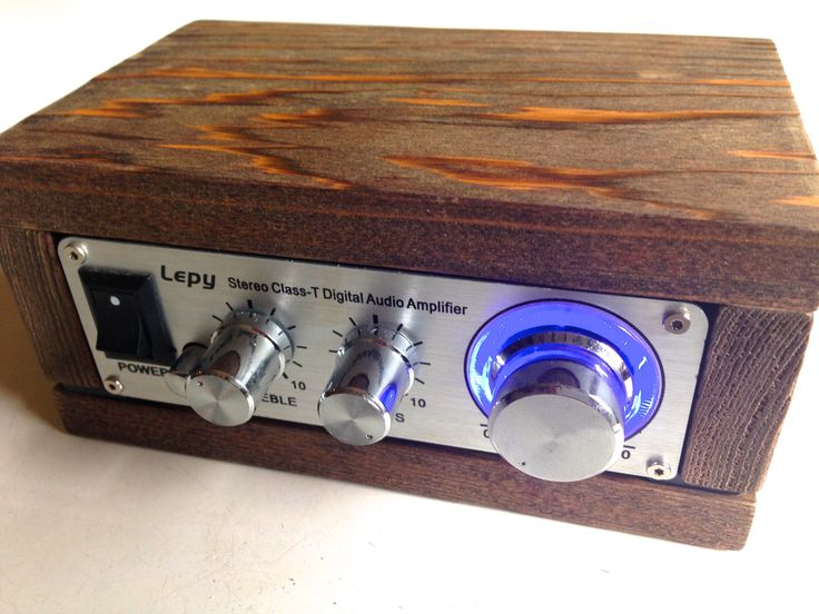 Lepai用の木製ケースです。