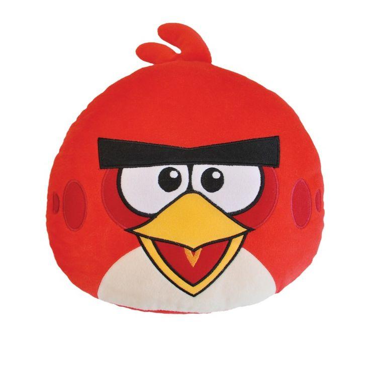 Poduszka Angry Birds AB-1001c czerwony Poszewka 100% bawełny, Wypełnienie 100% poliester. Rozmiar: 40x40cm. www.halantex.pl
