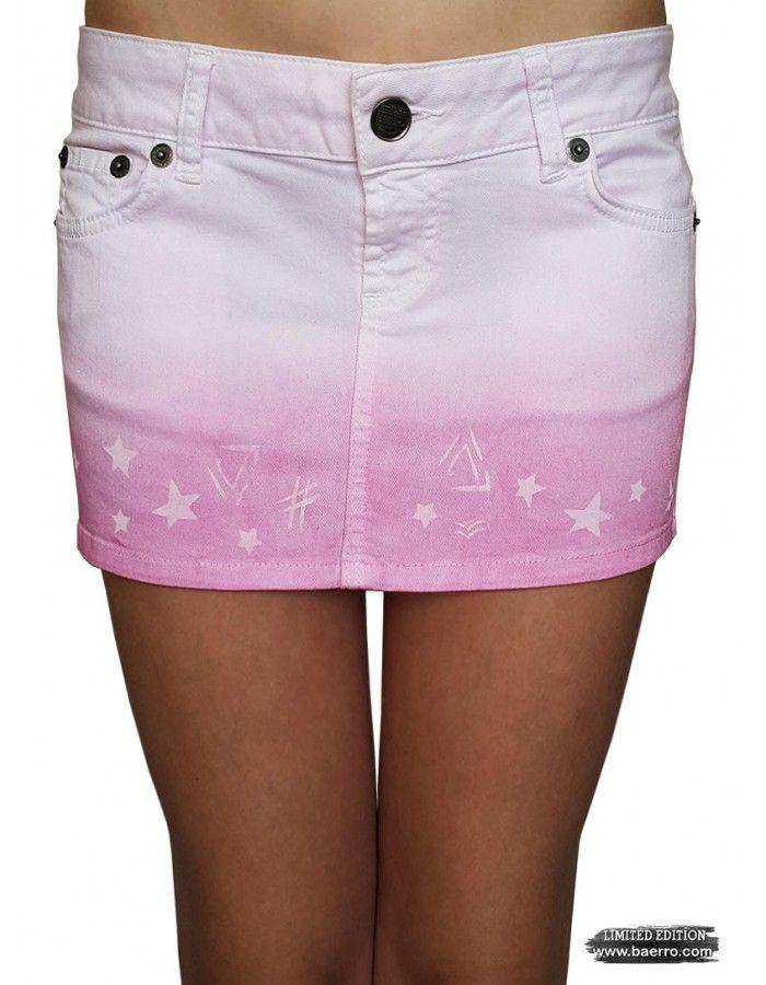 Stefany mini tie-dye  Baerro skirt. #baerro #FashionTrendandDesignStudio