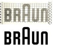 Braun Logo on the grid
