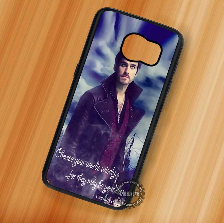 Once Upon a Time Captain Hook Quote - Samsung Galaxy S7 S6 S5 Note 7 Cases & Covers