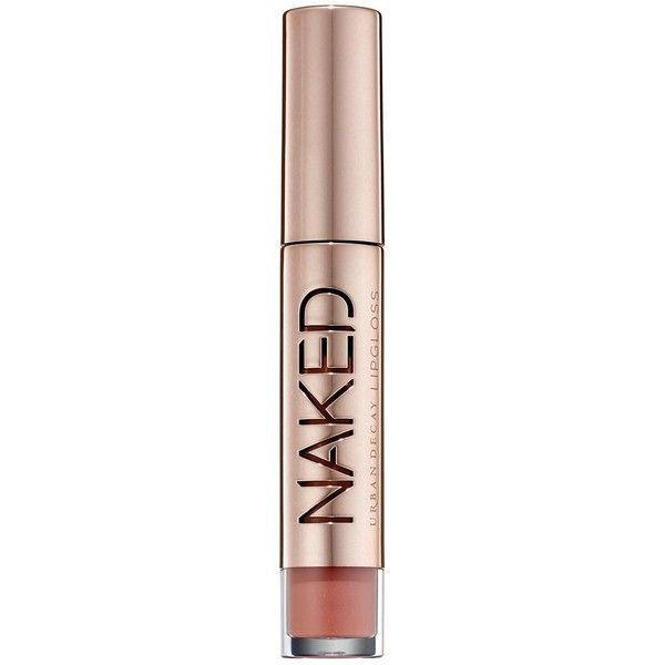 Urban Decay Naked Ultra Nourishing Lip Gloss ($22) ❤ liked on Polyvore featuring beauty products, makeup, lip makeup, lip gloss, urban decay lipgloss, stila lip glaze, lip gloss makeup and lipgloss