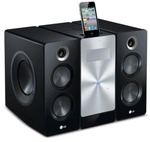 LG F166 Mini Audio Components iPhone iPod Docking 160W USB Bluetooth DVD Player