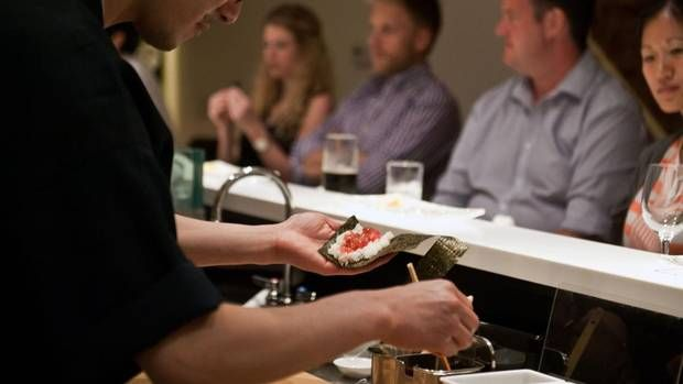 Until this past spring, Toronto didn't have the sort of sushi restaurant you might have seen in the documentary Jiro Dreams of Sushi