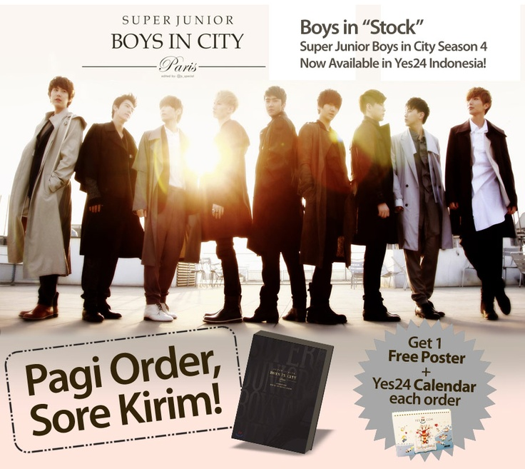 Yes24 Indonesia - READY STOCK!! Super Junior BIC www.yes24.co.id/SpecialEvents/482790?cid=pinterest