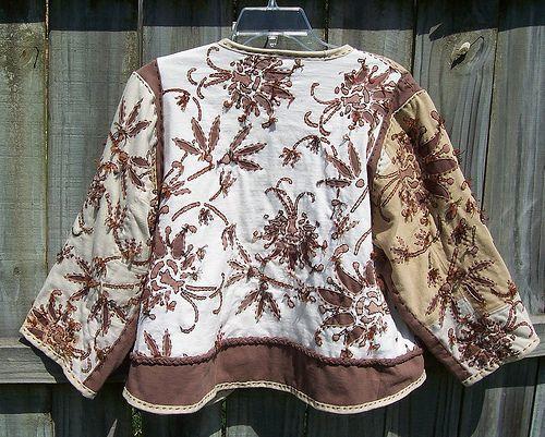 back - Alabama Chanin swing jacket | Flickr - Photo Sharing!