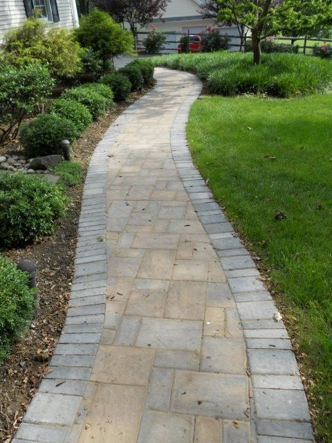 A Cambridge Pavingstones Walkway Is A Great Addition To