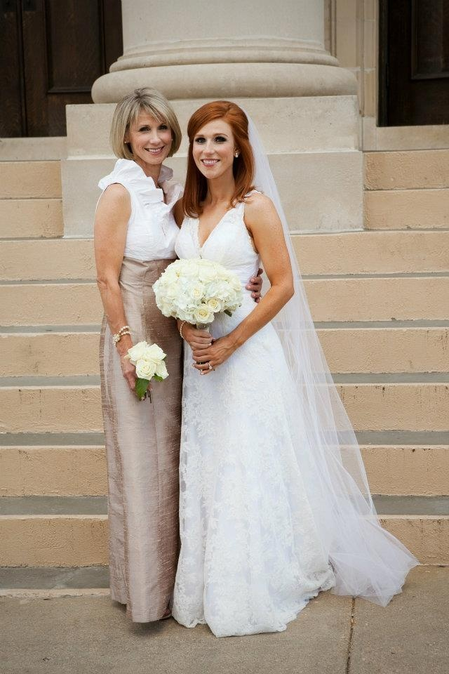 Love that dress for mother of the bride... With sleeves!