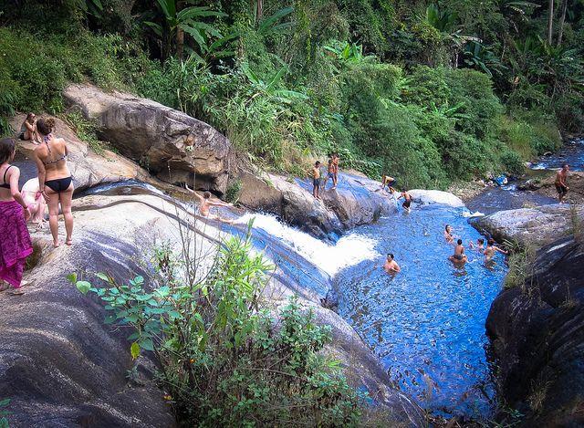 Waterfall Slide, Pai
