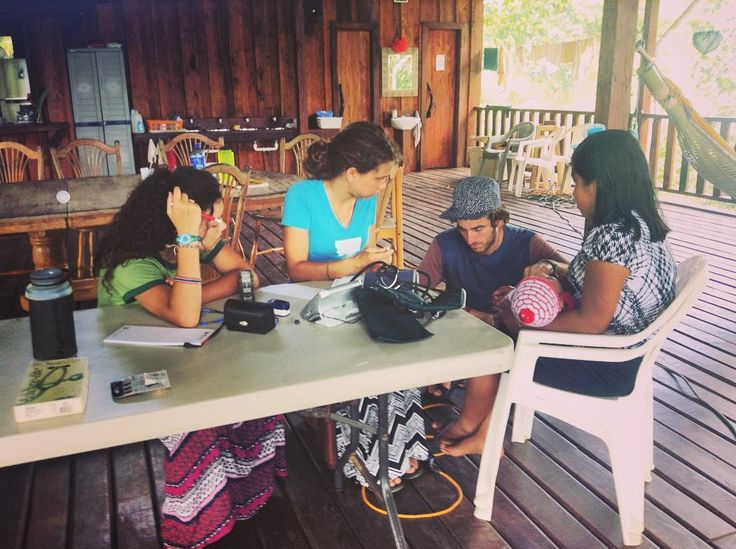 We got to help run a medical clinic today for the indigenous villagers that live near us! There is a tropical medicine missionary doctor who is here right now and it was SO incredible to work with him to serve and love these villagers! It was so beautiful to see them receive free medical care medicine and glasses all in the name of Jesus. This particular doctor has visited this place several years in a row and in the last few years they have installed a water filtration system in the…