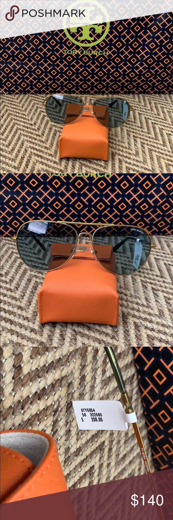 NWT Authentic Tory Burch Aviator Sunglasses NWT Authentic Tory Burch Aviator Sun…