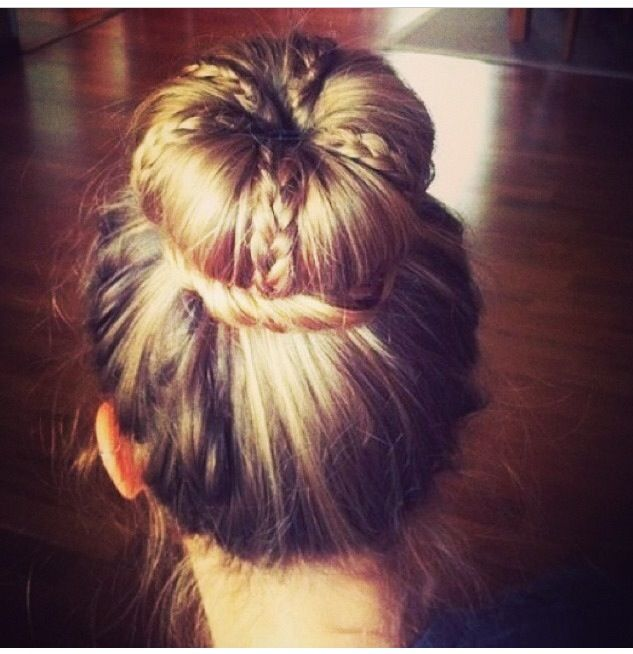 Beautiful bun