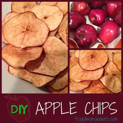 DIY Apple Chips Recipe.