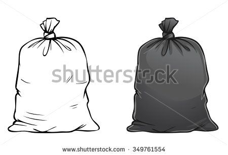 how to draw a trash can easy