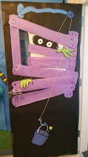 Onceler The Lorax Door decoration Read Across America Dr. Suess