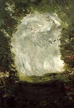 August Strindbergs målade grottmotiv: tolkat genom Helena Blavatsky´s teosofi och Bibeln.