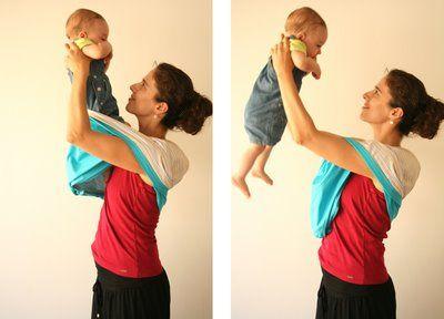 retirar o bebé do sling