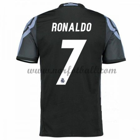 Billige Fotballdrakter Real Madrid 2016-17 Ronaldo 7 Tredje Draktsett Kortermet