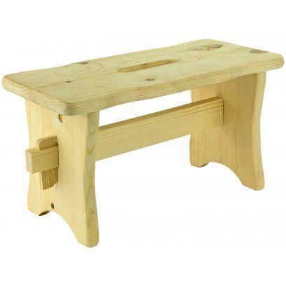 Stolček drevený Skara