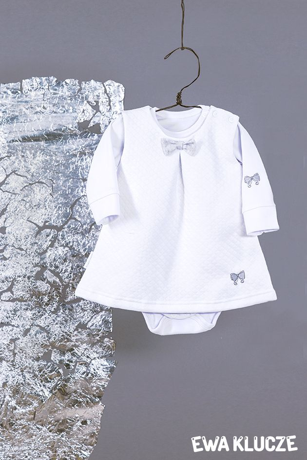 EWA KLUCZE, kolekcja ELEGANT, chrzest, sukienka dla dziewczynki, ubranka dla dzieci, EWA KLUCZE, ELEGANT collection, baby girl dress, baby clothes