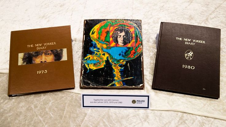 2006 in New York gestohlen: Berliner Polizei löst Rätsel um John-Lennon-Tagebücher