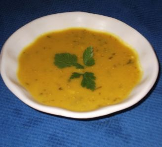 Very delicious, easy, quick middle eastern lentil soup. I added butternut squash to it, but could be good with carrots, sweet potatoes, peas, etc. I also added lemon and a bunch of fresh parsley