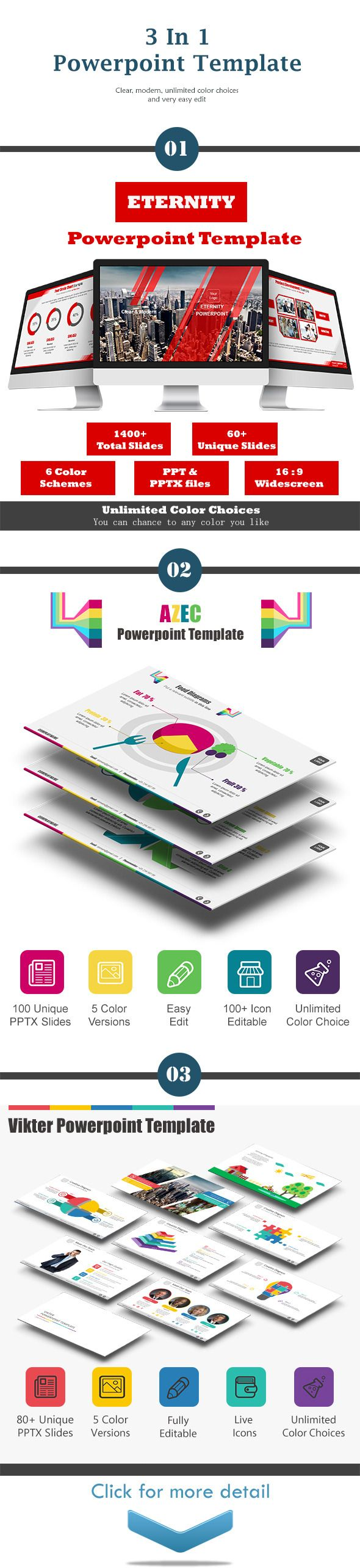3 In 1 Bundle Powerpoint