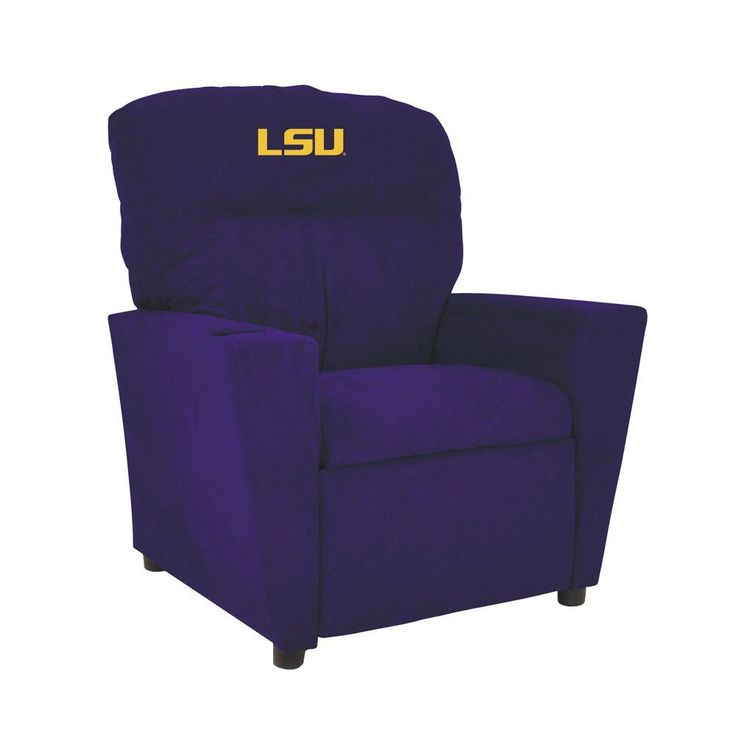 LSU Tigers Toddler Recliner w/ Cup Holder