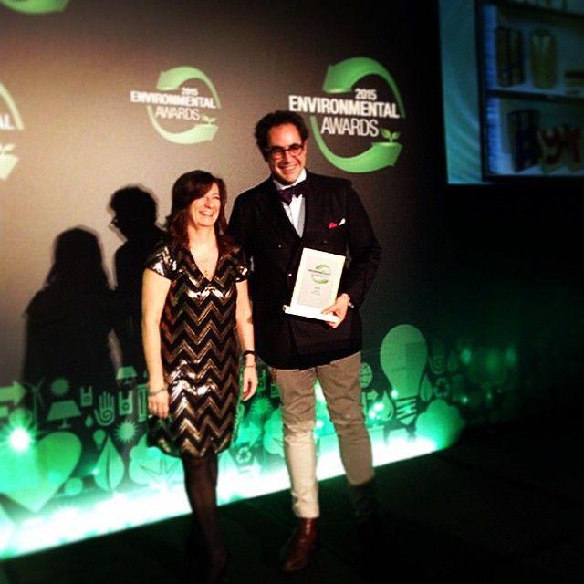 Salty Bag at Enviromental Awards