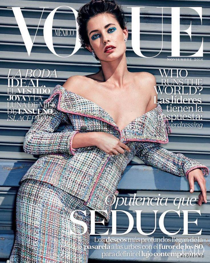 Vogue Mexico with Nadja Bender, November 2016 (ID:40574)