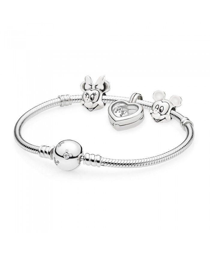 8ddfd18344df PANDORA Disney Mickey and Minnie Locket Bracelet Set