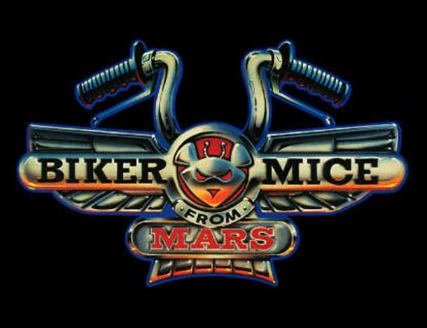 Biker Mice from Mars - Airing in 1993, and executive produced by Stan Lee, Biker Mice from Mars is about, you guessed it, mice that escape their war-torn planet, come to Earth, and help to fight off the very evil that destroyed their own planet. So, basically Transformers but with mice.