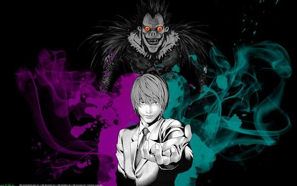 Tags DEATH NOTE, Ryuk, Yagami Light, Shinigami
