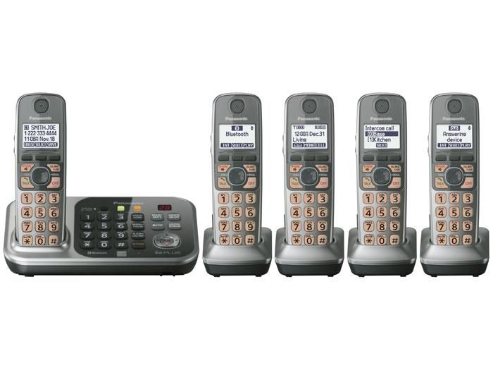VTech Connect-to-Cell Cordless Phone System vs Panasonic KX-TG7745S Link-to-Cell Cellular Convergence Solution REVIEW   System consolidates your landline and cell phone into one device, or ditch your landline entirely. Place your cell wherever it gets best reception but use handset anywhere. Connect up to 2 cell phones.   Recommended by PC Magazine + Ramsin of Marilyn Denis Show   at Best Buy