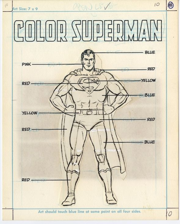 How to Draw Superman. Curt Swan.