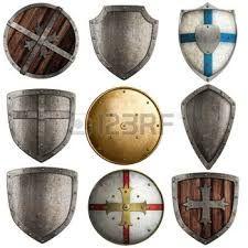 Resultado de imagen para tipos de escudos medievales