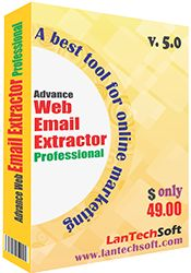 Web Email Extractor is the fastest tool for extracts email addresses from internet through most popular search engines such as (Bing, Google, Askcom, Aspseek, Yahoo, Lycos, AltaVista etc). Web Email Extractor also extracts email addresses from a list of websites/URLs.