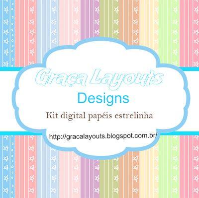 Kit papéis digital