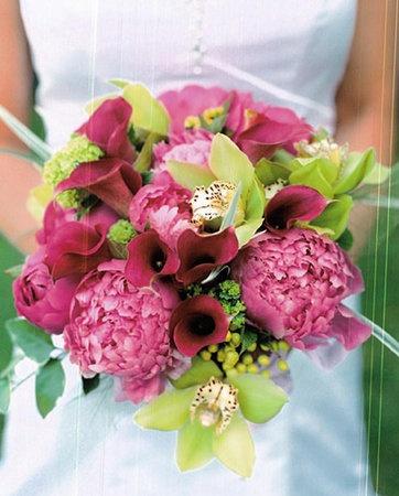 Photo Via. Wedding Flower BouquetsPink ...