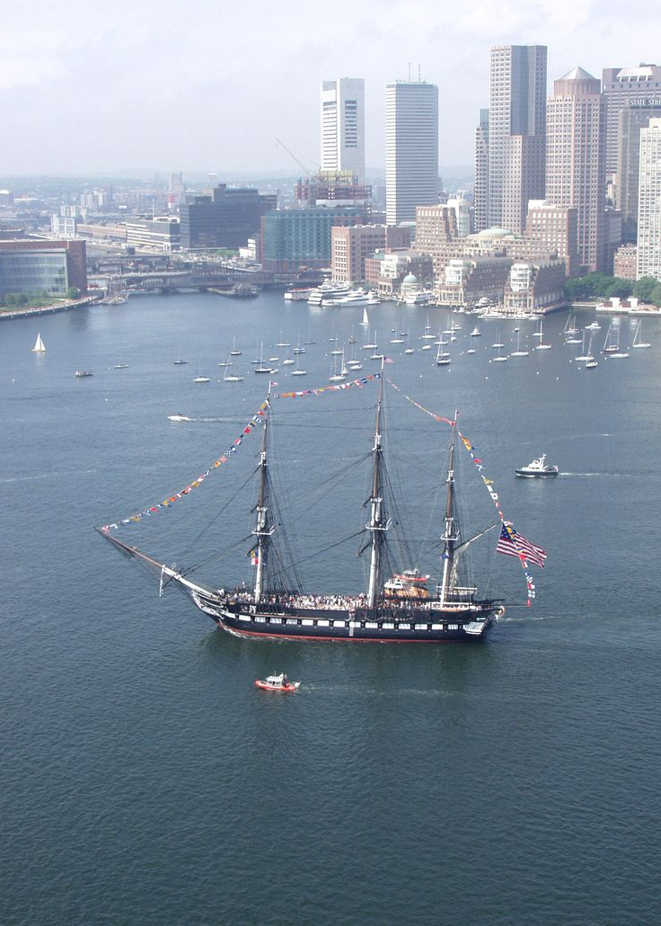 USS Constitution, Boston.