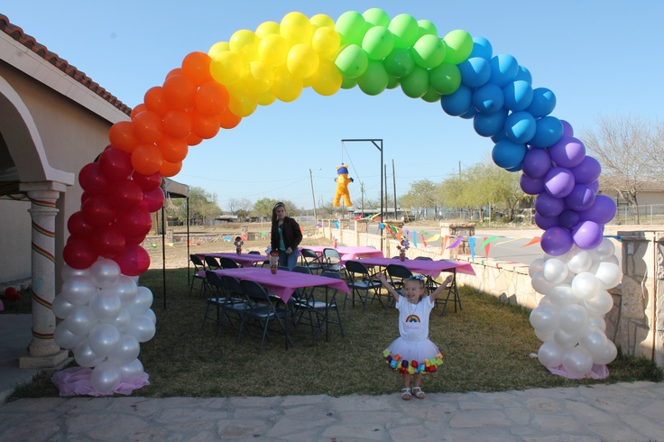 12 best images about diy balloon arches with air on for How to build a balloon arch
