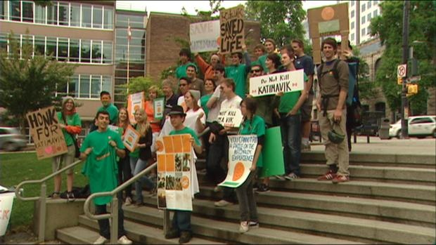 Katimavik supporters rally for cancelled program
