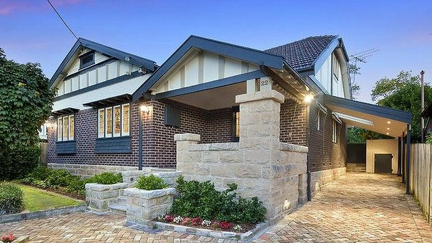 Roseville on Sydney's north shore has many fine examples of California Bungalows.