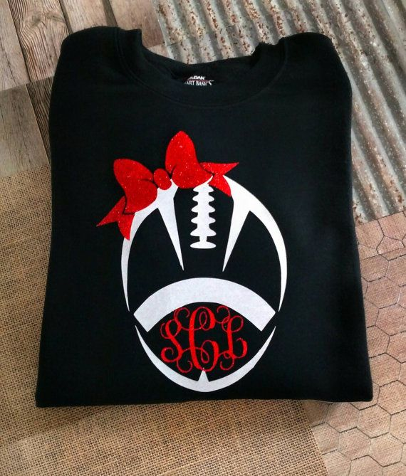 Check out this item in my Etsy shop https://www.etsy.com/listing/452724024/football-sweatshirt-monogram-shirt