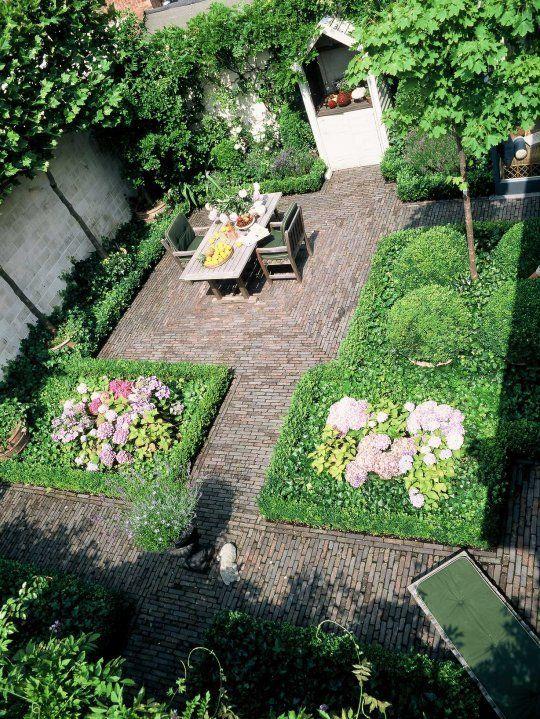 Bart & Pieter | Tuinarchitectuur - roof garden - 80 m2 - 1th floor- romantic & classic