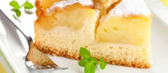 Appeltaart, Italiaanse Versie (cakebeslag)
